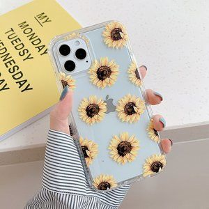 NEW iPhone 12/11/Pro/Max Protective Sunflower case